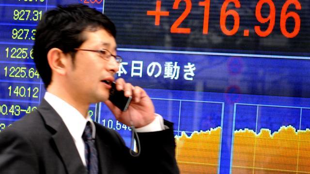 Winstnemingen op Japanse beurs