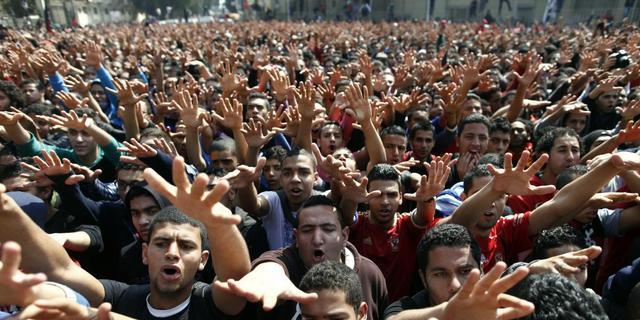 Voor- en tegenstanders regering Egypte op de vuist