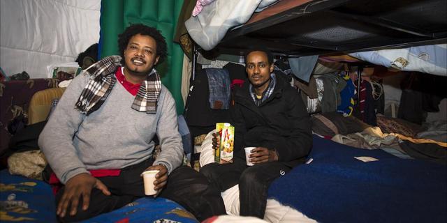 Asielzoekers mogen in vluchtkerk blijven
