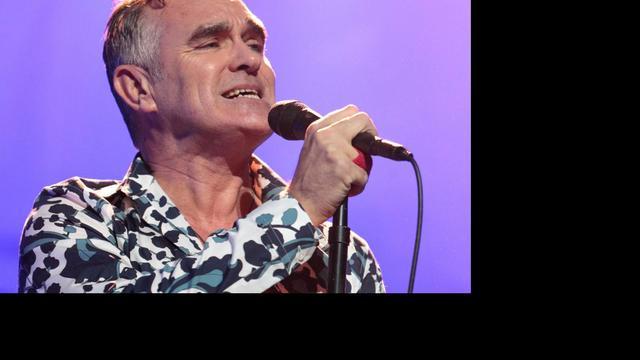 Zieke Morrissey zegt opnieuw concert af
