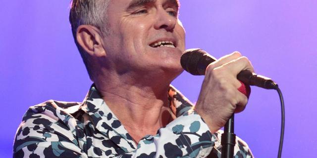 Morrissey treedt op tijdens uitreiking Nobelprijs
