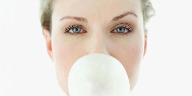 Langer concentreren door kauwgom kauwen