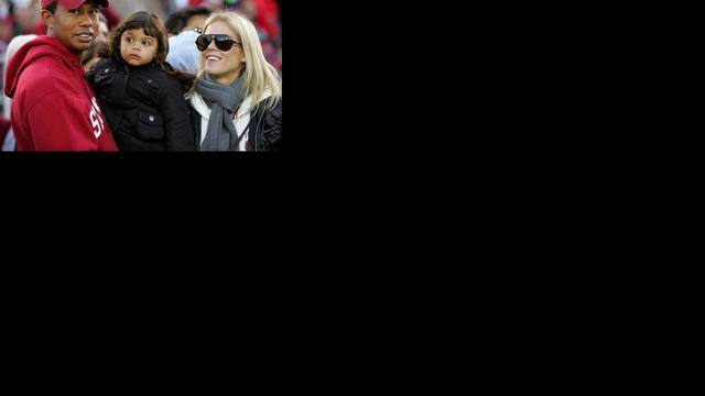 'Ex-vrouw Tiger Woods verliefd op miljonair'