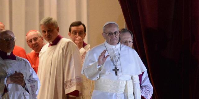 Ingenomen reacties op komst paus Franciscus I