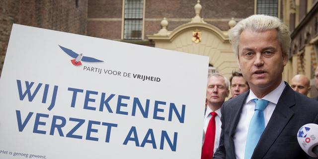 '30.000 mensen in verzet tegen Rutte'