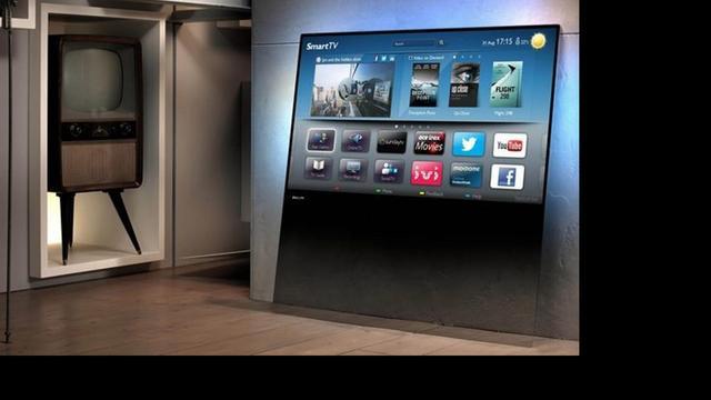 Philips kondigt designtelevisie aan