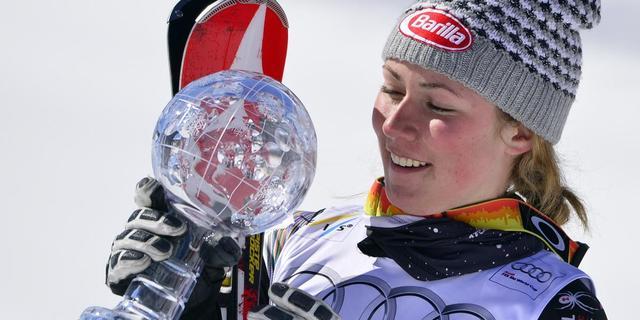 Shiffrin zegeviert op slalom in Flachau
