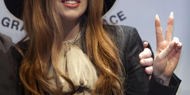 Lady Gaga ook peetmoeder van Elton Johns zoon Elijah