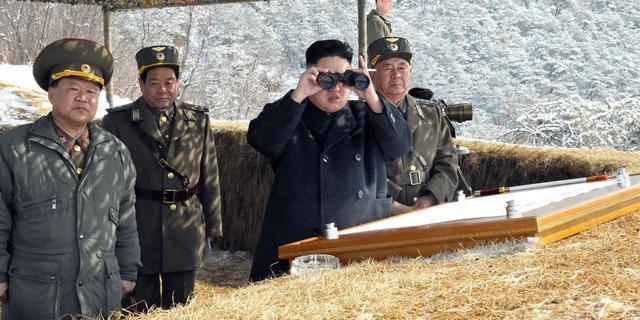 'Kim flirt met oorlog, maar wil die niet'