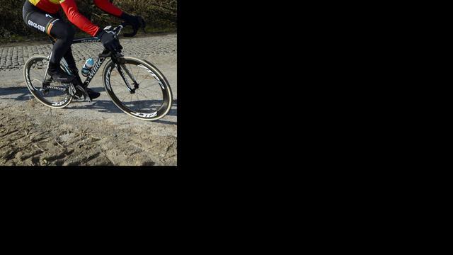 Boonen geeft op in Ronde van Vlaanderen