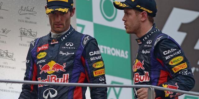 'Vettel was helemaal van streek'