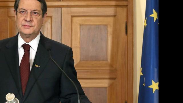 President Cyprus bedankt volk voor kalmte