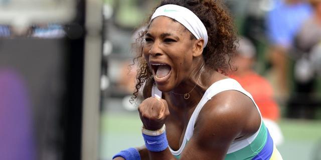 Serena Williams pakt titel in Miami (video)