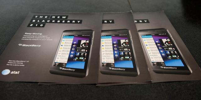 Nieuwe Blackberry vanaf 2 april in Nederlandse winkels