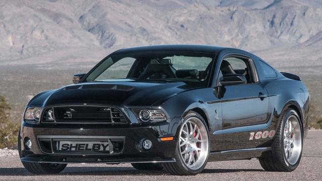 Shelby Mustang 1000 S/C gaat Veyron SS achterna