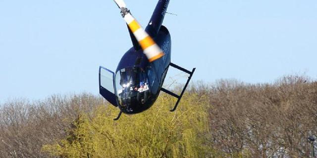 Helikopter viel in water door fouten piloot