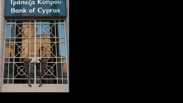 'Economie Cyprus kan 8,7 procent krimpen'