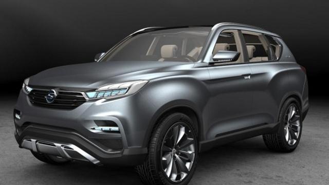 SsangYong heeft LIV-1 Concept gedebuteerd