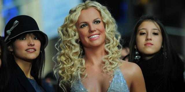 Britney Spears in Madame Tussauds New York