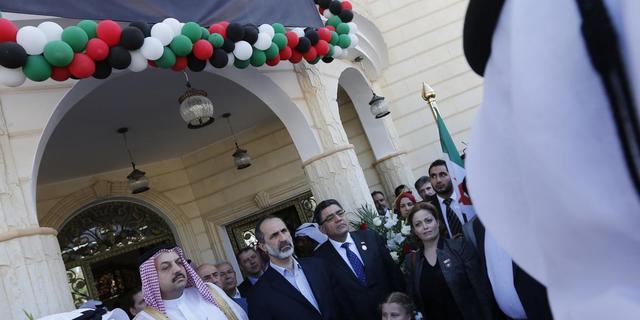 Syrische oppositie opent ambassade