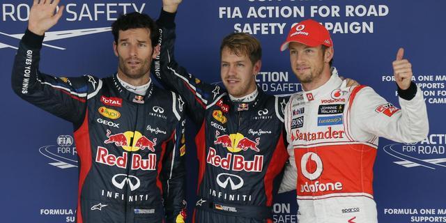 Button geeft Vettel waarschuwing