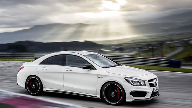 Mercedes CLA AMG officieel onthuld in New York
