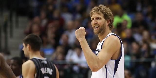Belangrijke zege Mavericks in NBA