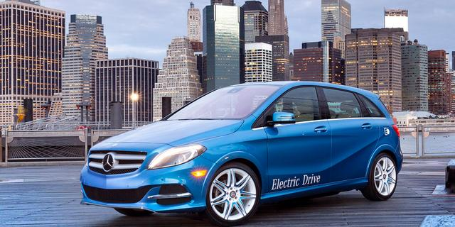 Mercedes B Electric Drive krijgt primeur in New York