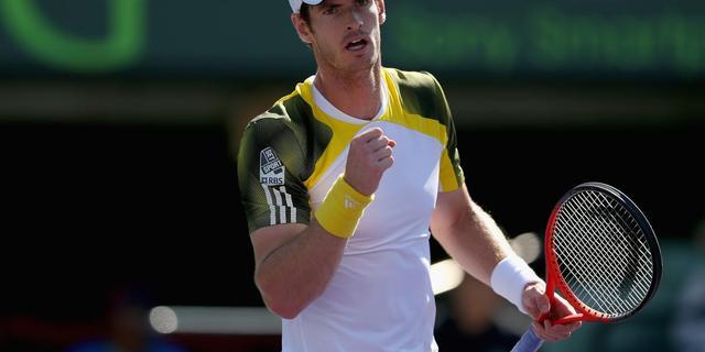 Murray naar halve eindstrijd Miami (video)