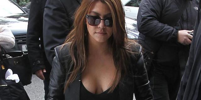 'Kind Kourtney Kardashian niet van haar man'