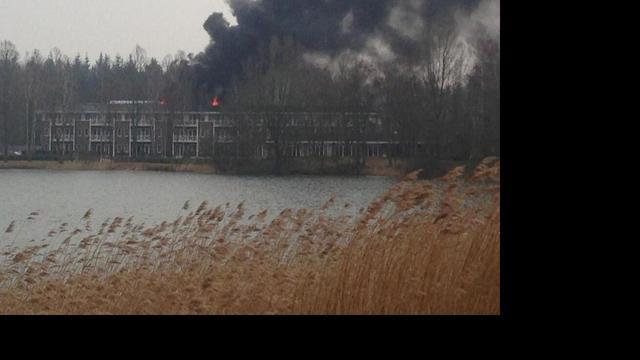 Zeer grote brand saunacomplex Bussloo