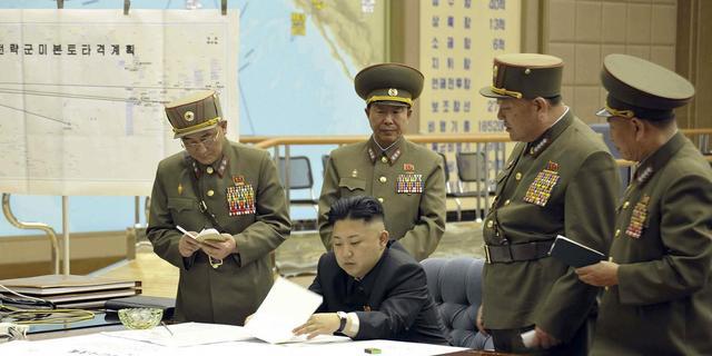 Foto toont overzicht wapens Noord-Korea
