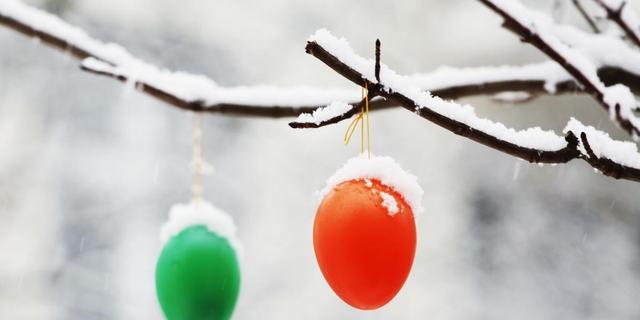 Pasen wordt kouder dan kerst