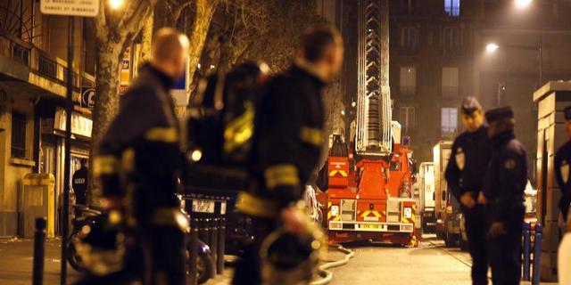 Doden en gewonden door brand in Parijs