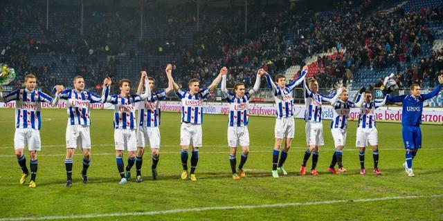 Feyenoord ten onder in Friesland