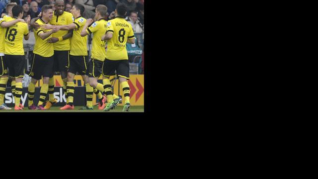 Dortmund zit Bayern nog even dwars, Juve verslaat Inter