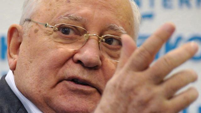 Gorbatsjov ontkent 'schuld' aan instorten Sovjet-Unie