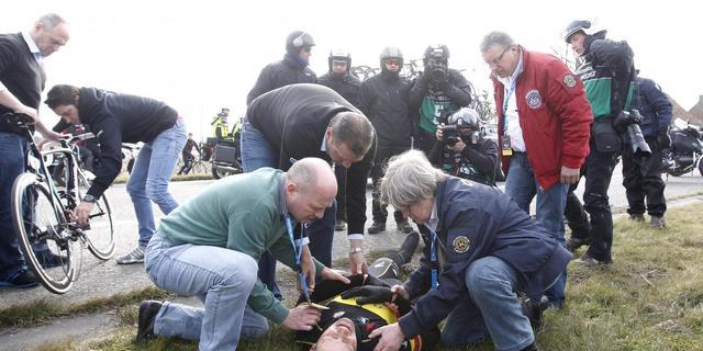 Boonen moet Parijs-Roubaix laten schieten