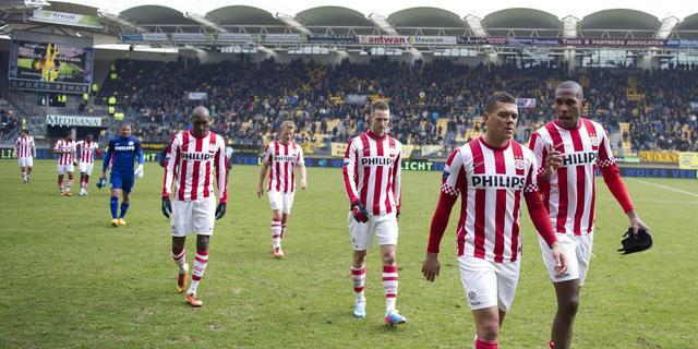 PSV loopt averij op bij Roda JC