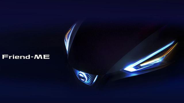 Nissan Friend-Me eerste auto samen met Chinese ontwerpers