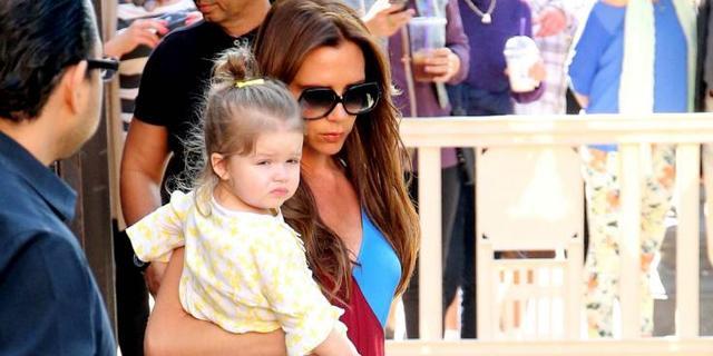 Bij Victoria Beckham draait alles om de kinderen
