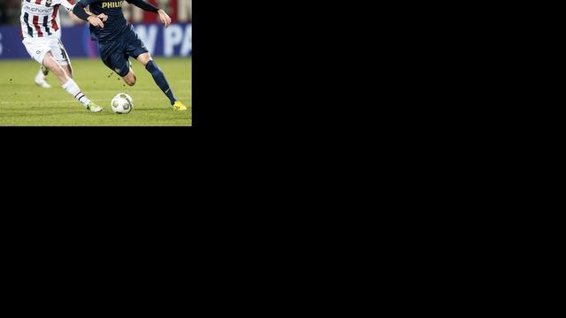 Moeizame zege PSV op hekkensluiter Willem II
