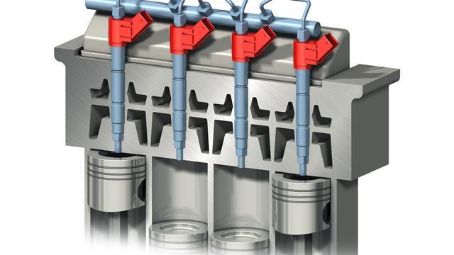 Volvo injectietechnologie richt zich op verbruik