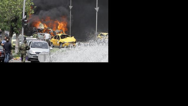 Doden en gewonden door autobom in Damascus
