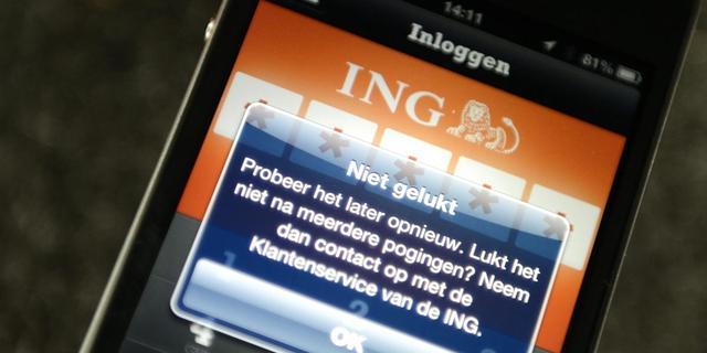 ING getroffen door langdurige storing bij internetleverancier