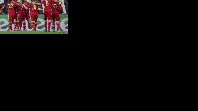 Bayern eenvoudig naar laatste vier