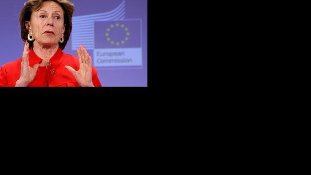 'Geen vertraging voor telecomplan Kroes'