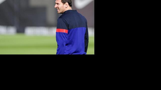 Geen terugslag voor Messi