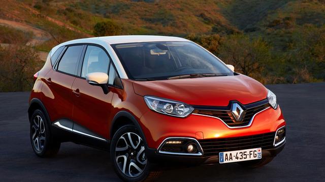 Renault Captur heeft prijs gekregen