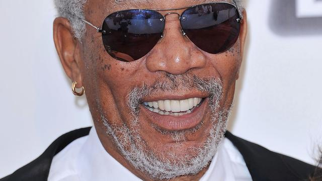 Morgan Freeman met Johnny Depp in zee